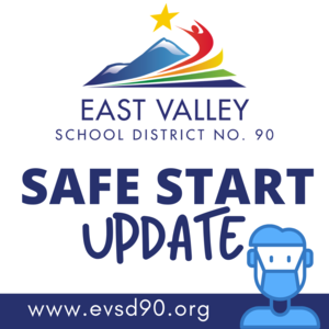 Safe Start Update with kid in mask icon