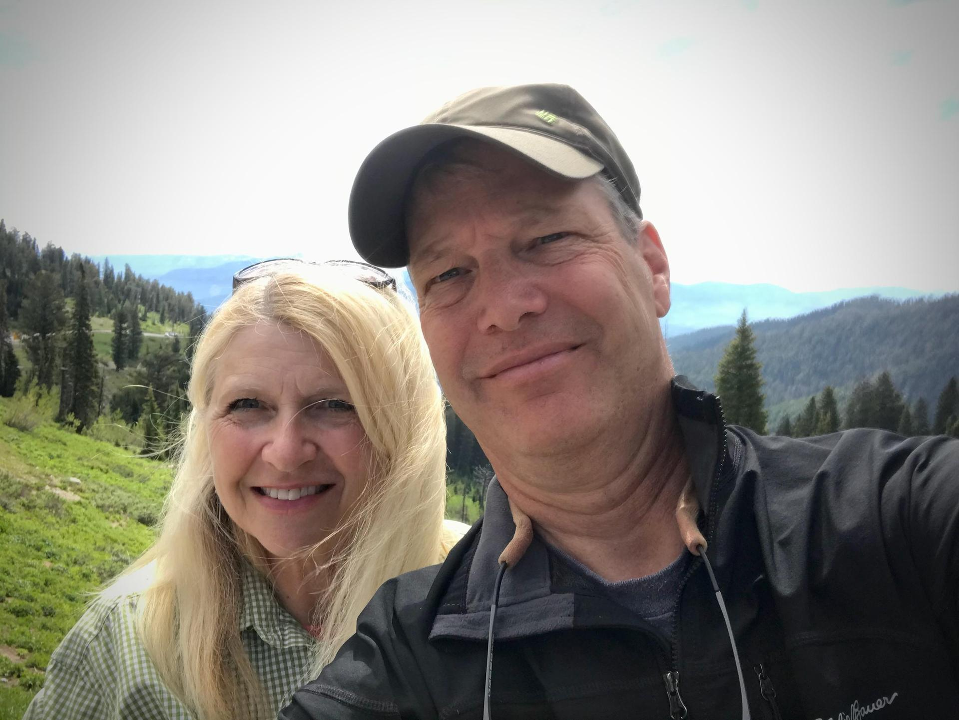 More time in the mountains with my husband