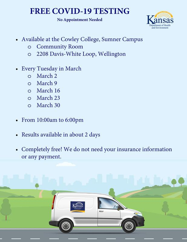 Free Covid Testing in March