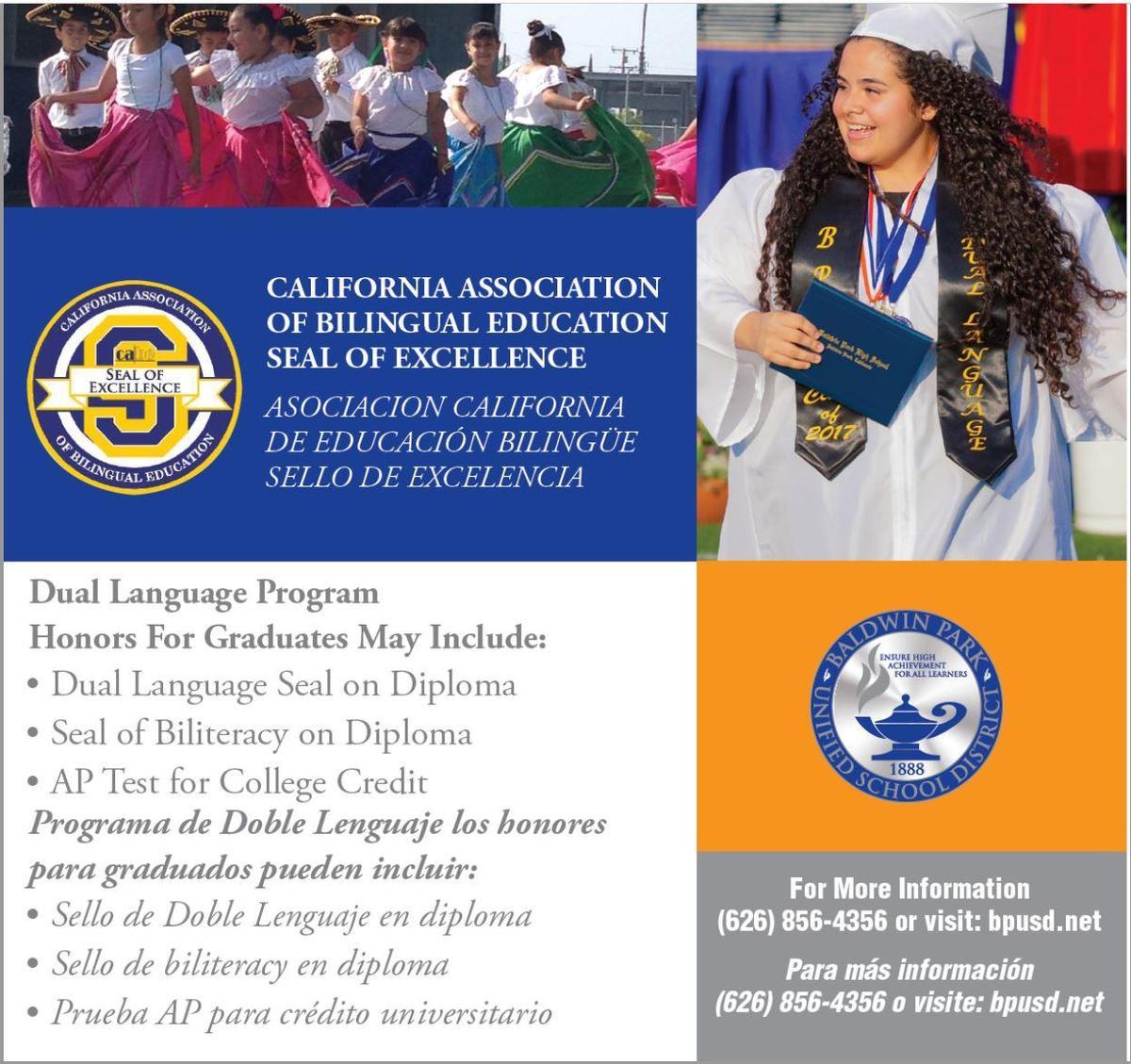 Dual Language Diploma Seal Info