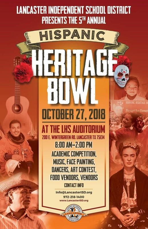 Lancaster ISD Announces Its 5th Annual Hispanic Heritage Bowl Thumbnail Image