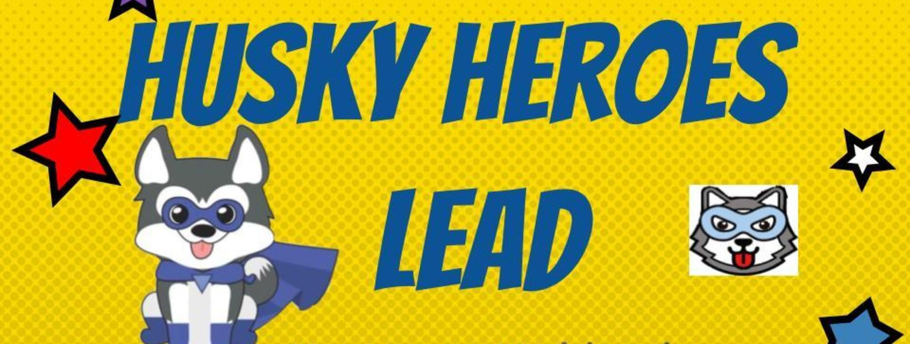 Husky Heroes Lead
