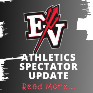EV with pitchfork logo and the wording