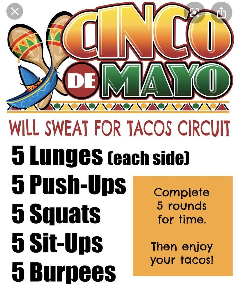Cinco de Mayo Workout