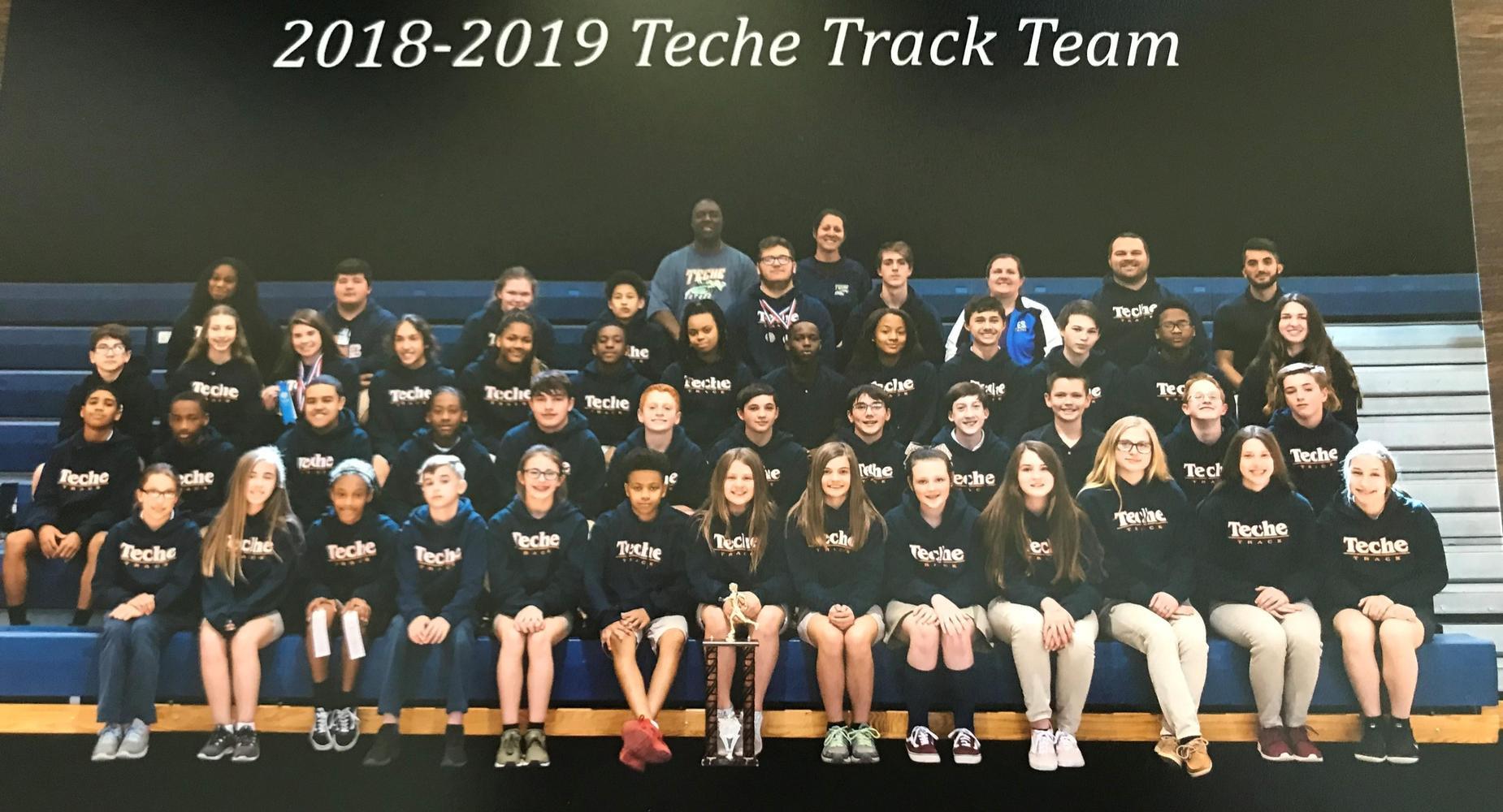 Teche Track Team