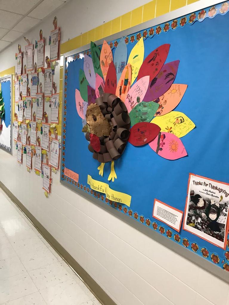 turkey thanksgiving bulletin board