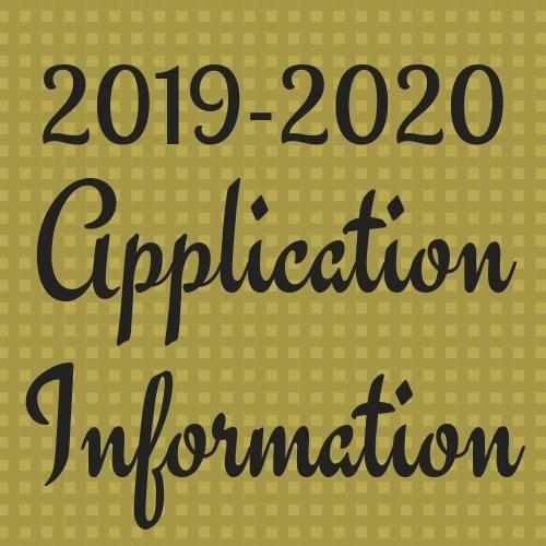 Applications for 2019-2020 Thumbnail Image