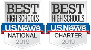 US News & World Report Silver Award for Best National High School and Best Charter High School