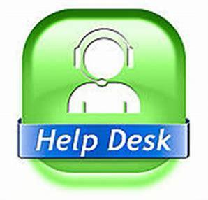 Help Desk icon in green And blue