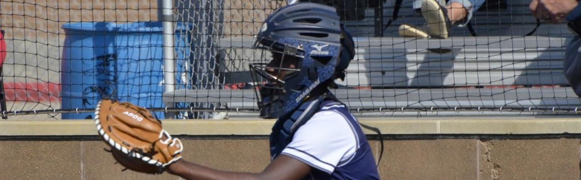 Girls Softball catcher