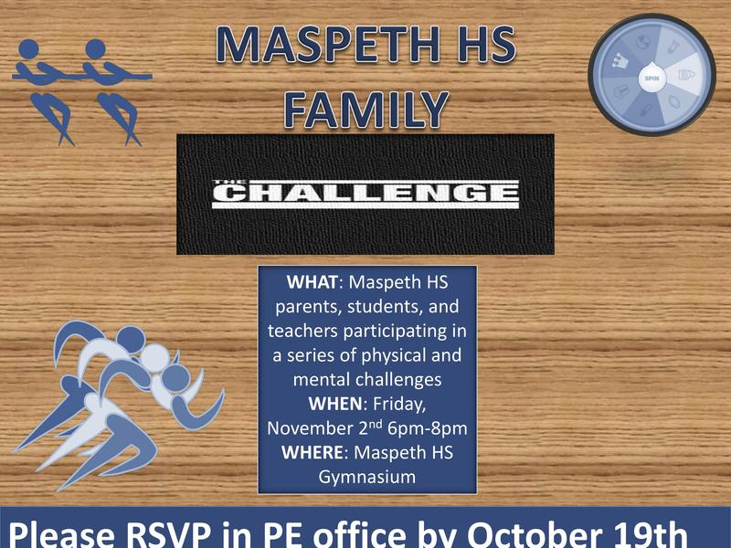 Maspeth High Challenges Parents, Students, Staff Featured Photo