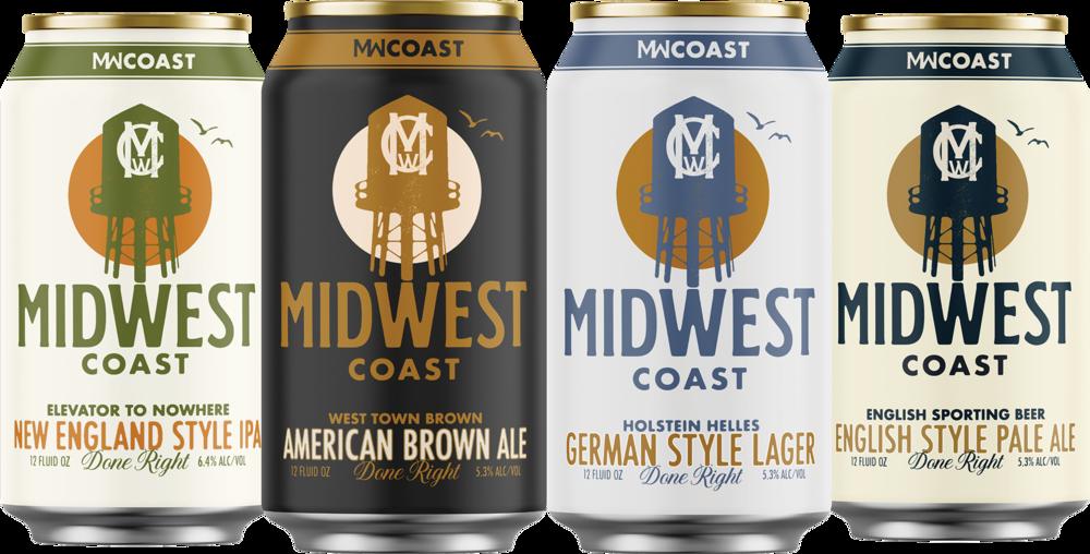 Midwest Coast beers