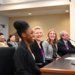Student Reneece Bailey testifying in Olympia