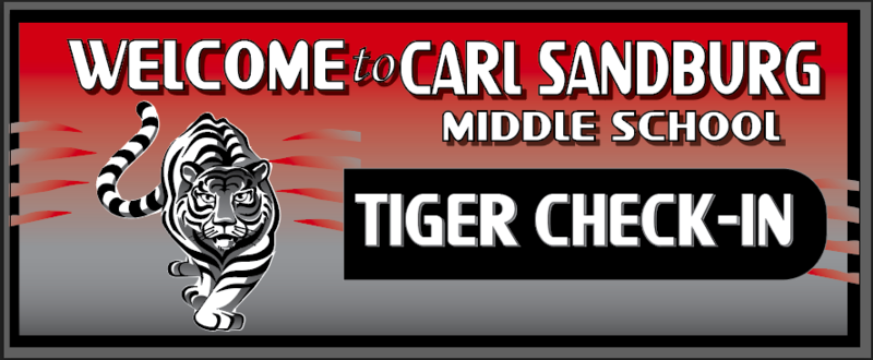 Tiger Check In Banner