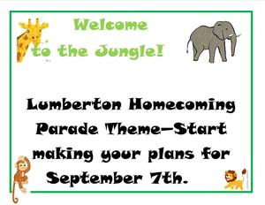2019 Homecoming Parade Theme