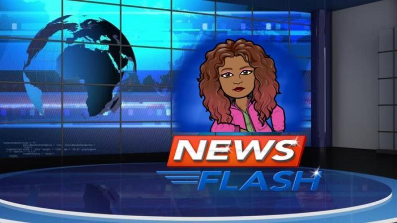 news show background with bitmoji