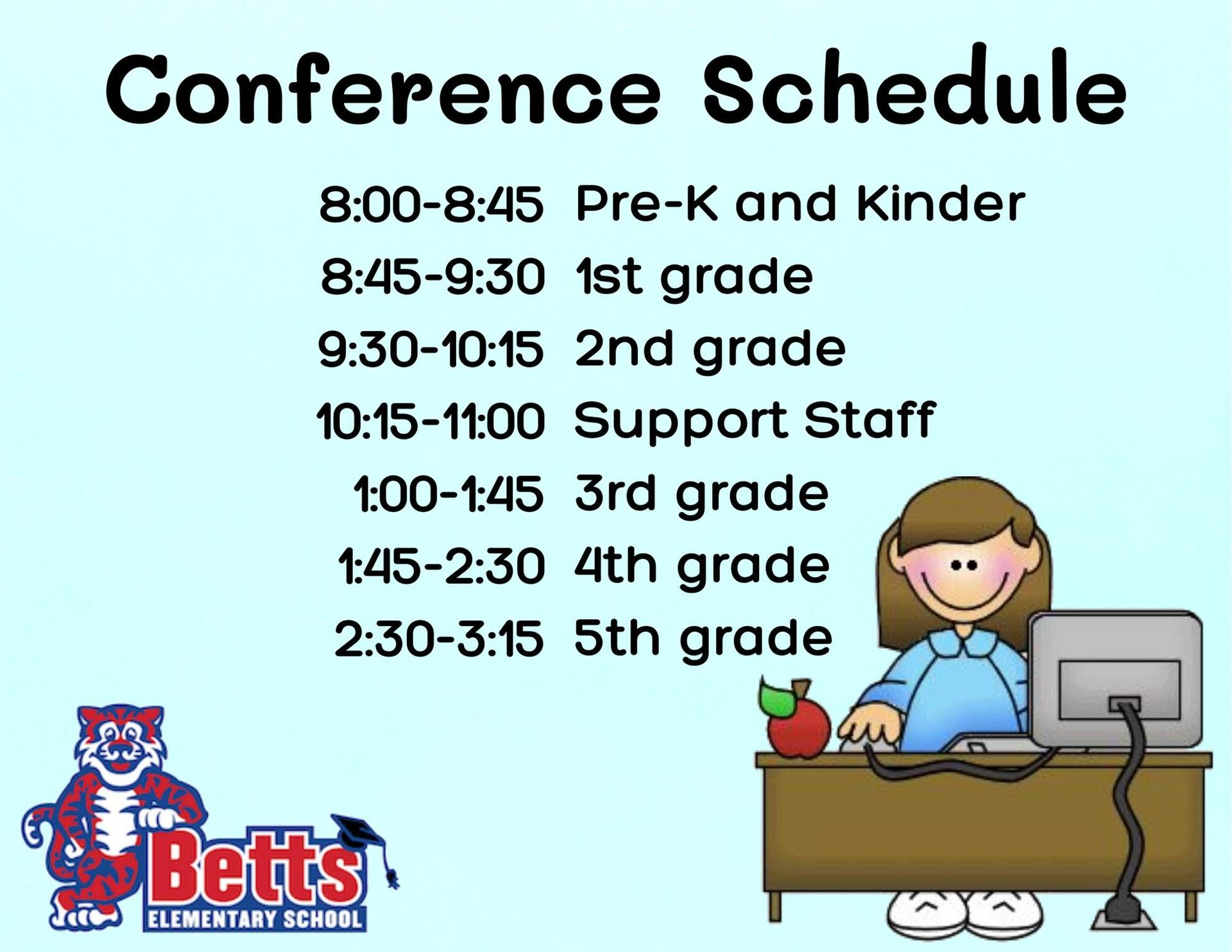 Image of Conference Schedule poster