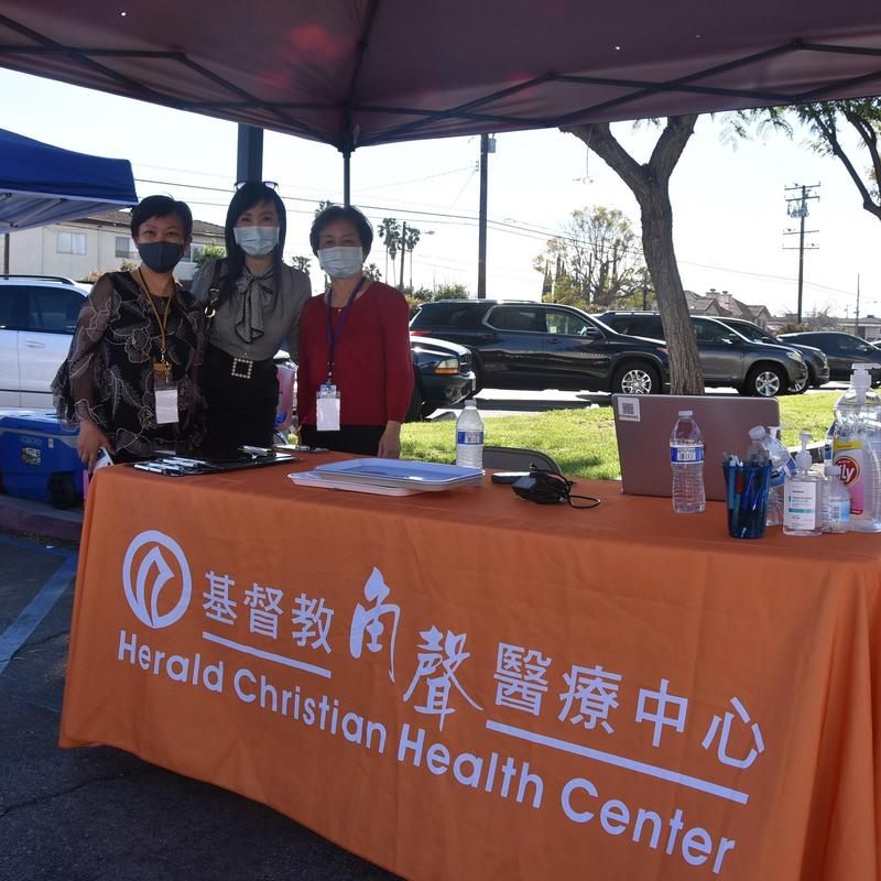 China Press Segment on AUSD Employee Vaccination Clinic (in Mandarin) Featured Photo