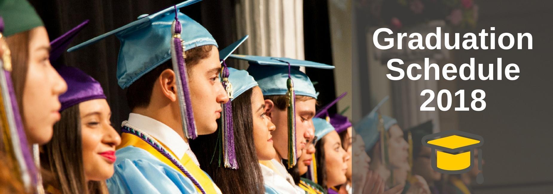 mcallen isd graduation schedule