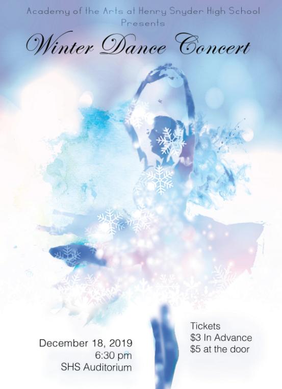Snyder Winter Dance Concert