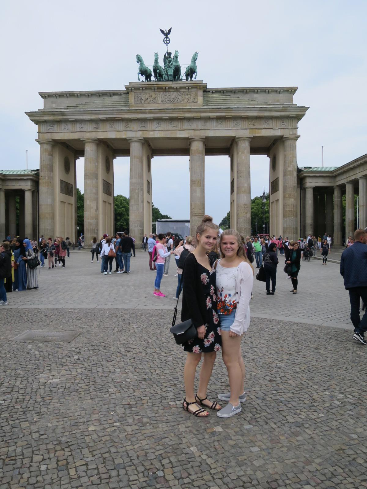 Friendship Exchange Partners visiting Berlin together