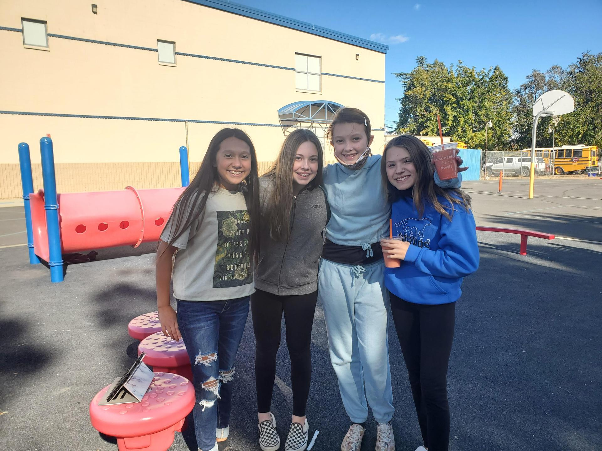 Friends at Pacheco