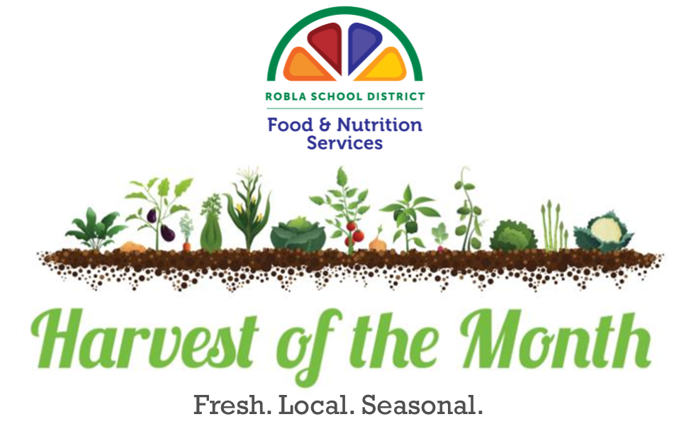 Food & Nutrition Department harvest of the month logo