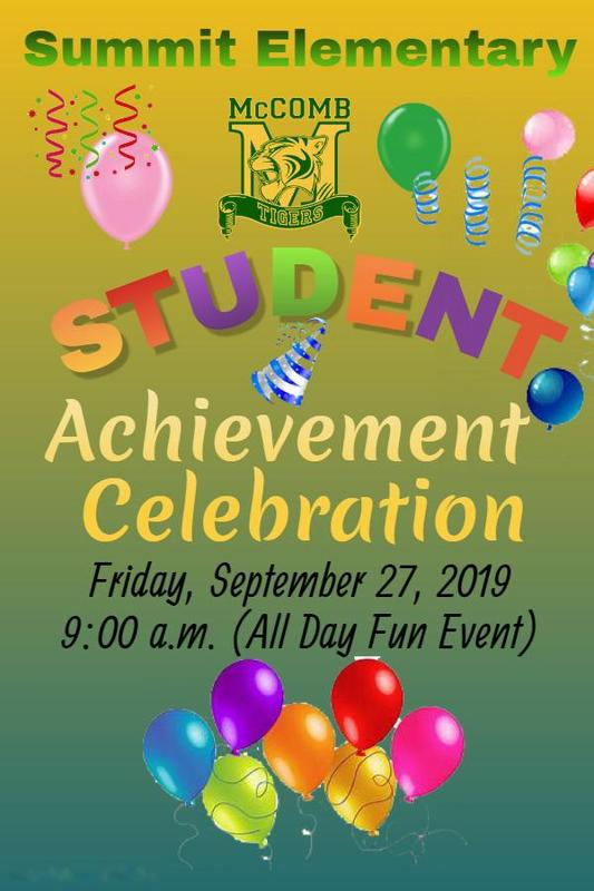 Summit Elementary Student Achievement Celebration 2019
