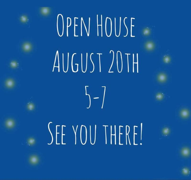 Open House Time Announced! Featured Photo