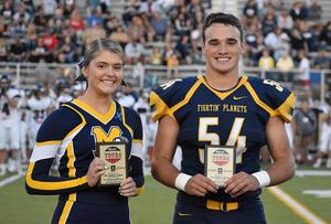Mars Area High School seniors Kamryn Kolson  and Dalton Becker were selected to receive a 2019 Scholastic Sports Marketing Student-Athlete Award.