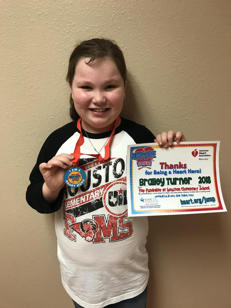 Jump Rope for Heart top fundraiser