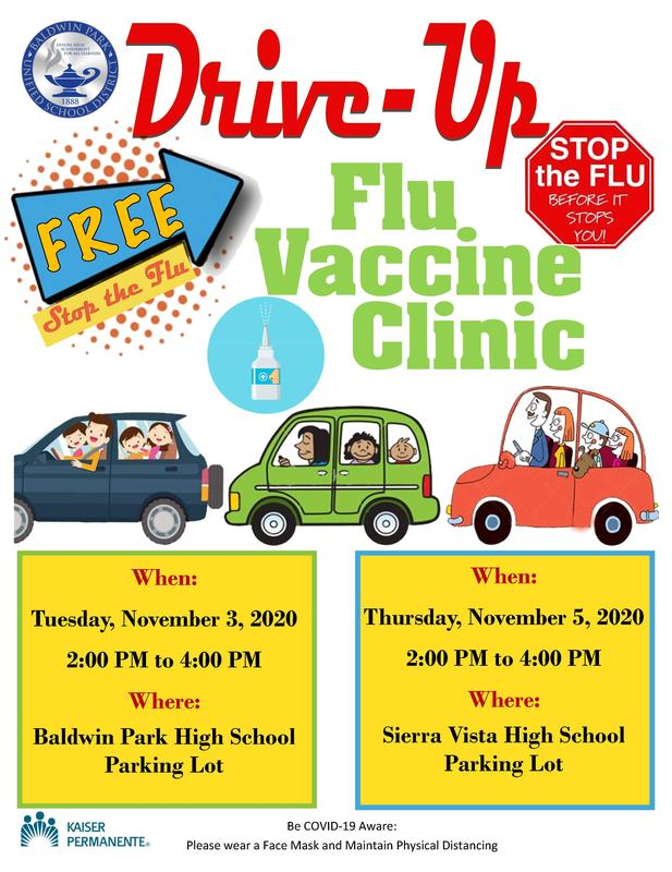 Drive - Up Flu Clinic