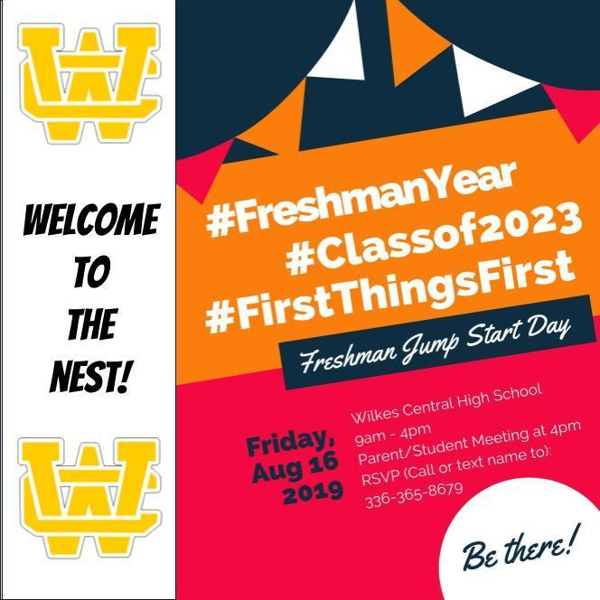 Freshman Jump Start Day Thumbnail Image