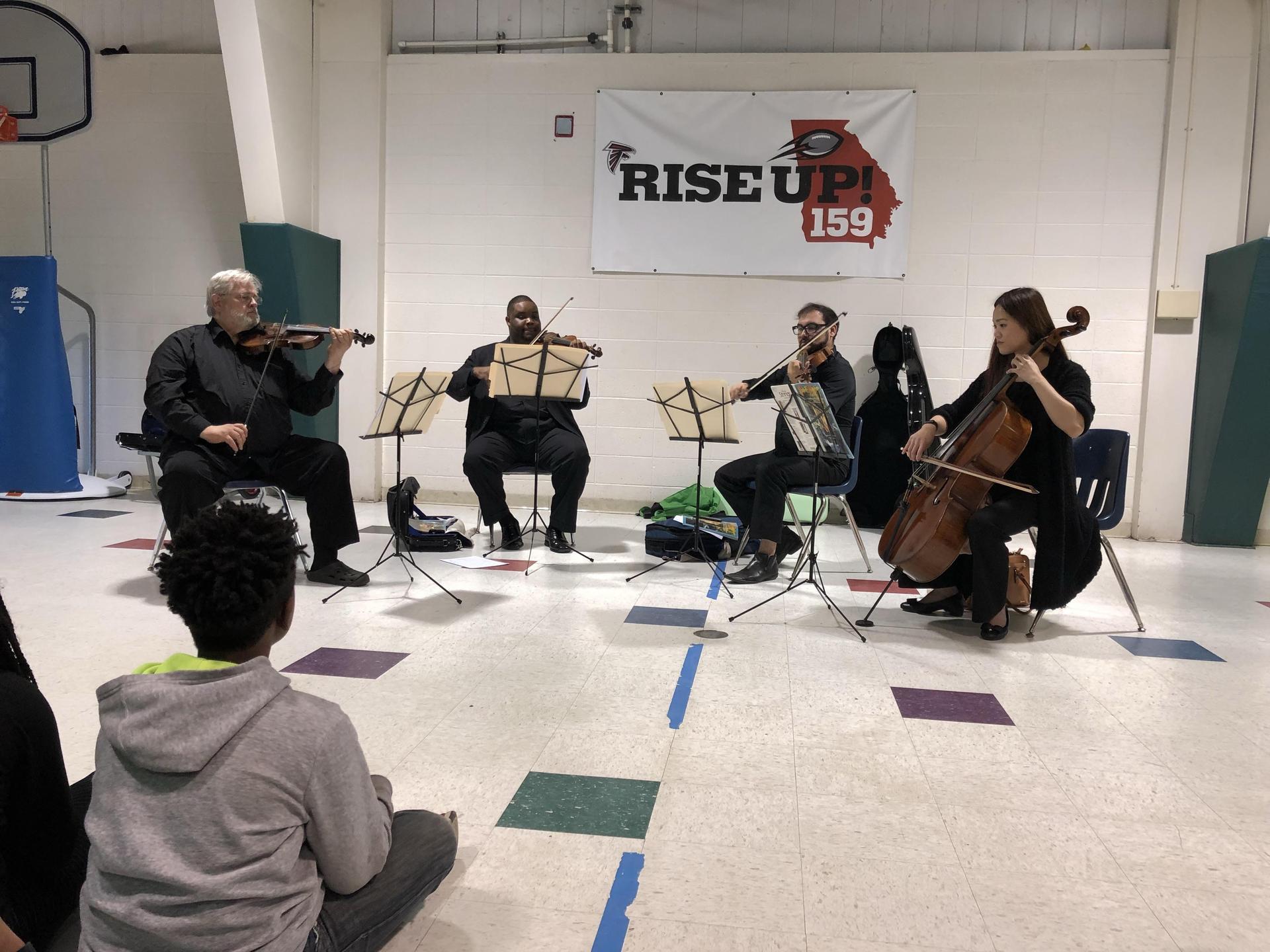 Symphony performance at TES