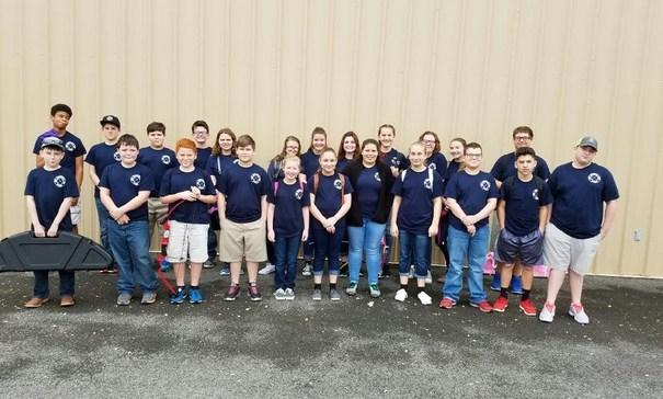 AES Archery Team in Alexandria