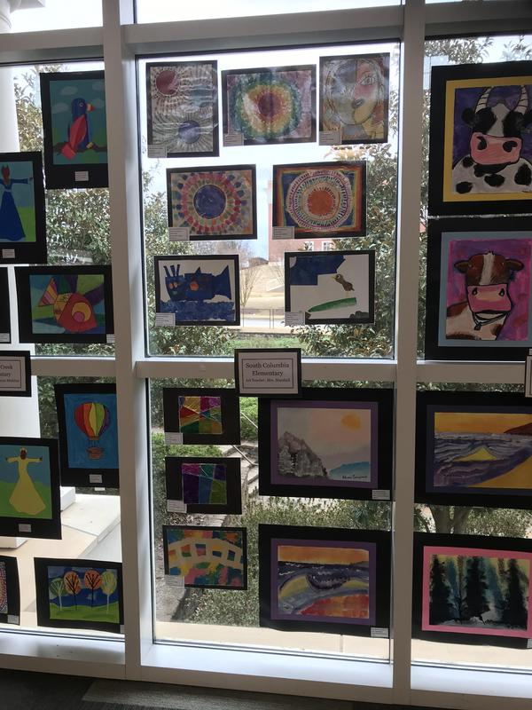 Art Show at Columbia County Library Featured Photo