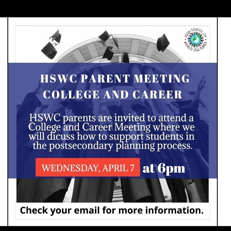 4/7 Parent Meeting College & Career Featured Photo