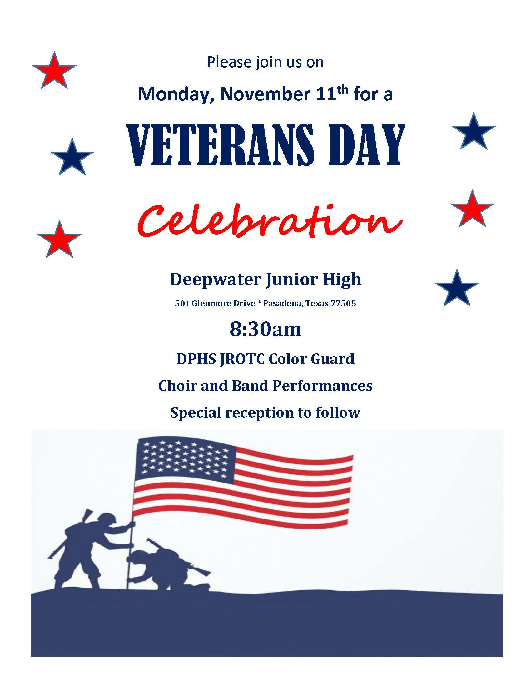 Veterans' Day Invitation