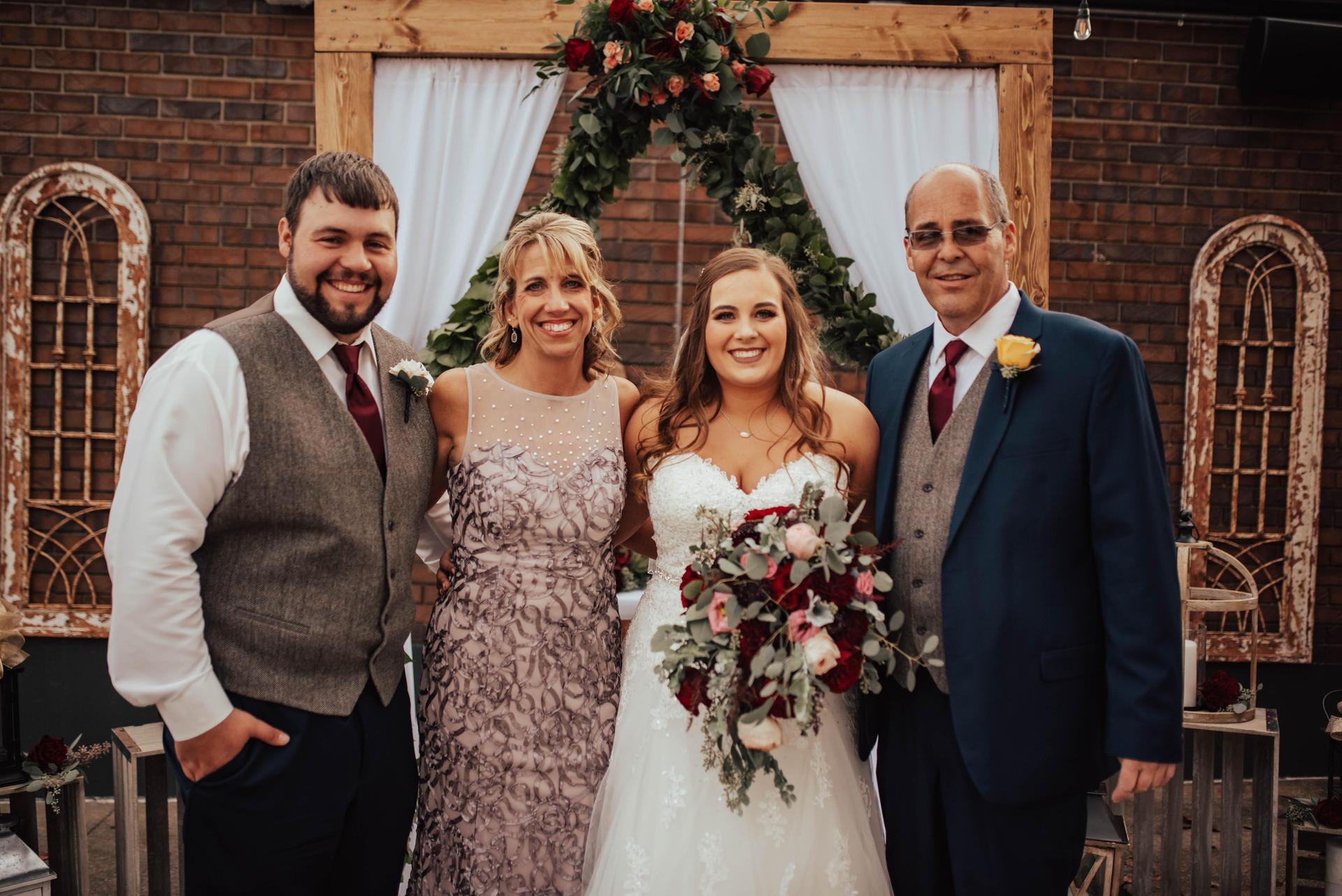 Wedding, Nov. 2019
