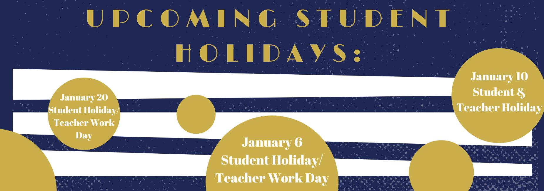 Student Holidays