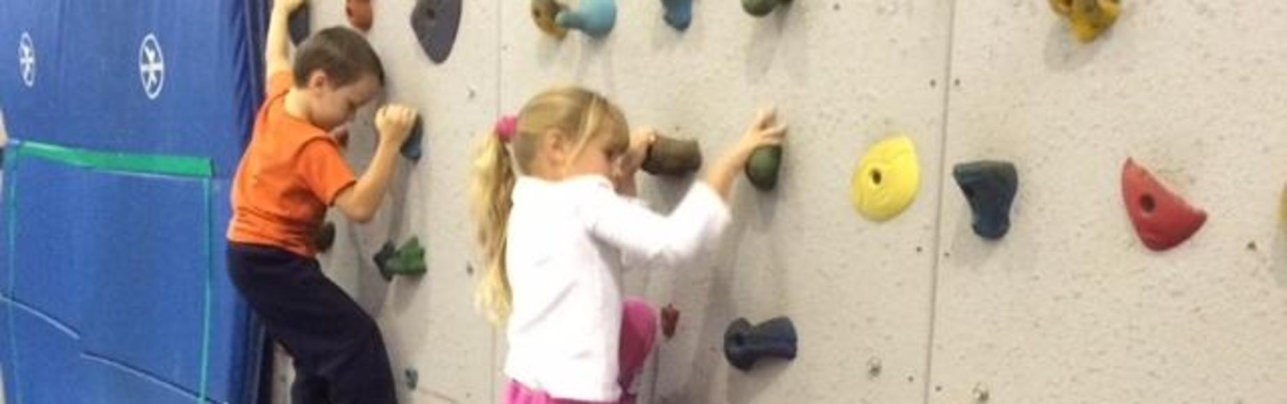 Climbing Wall Picture