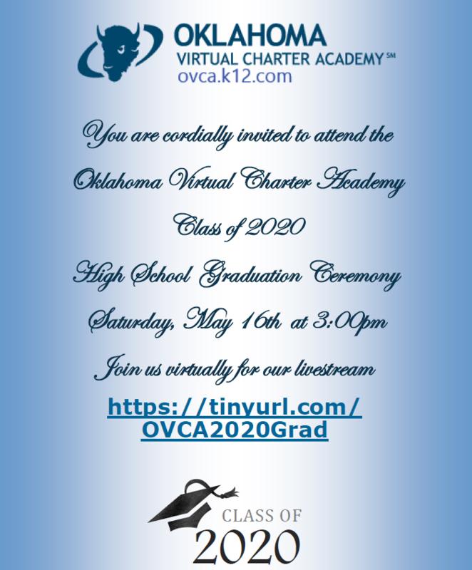 OVCA Class of 2020 Graduation ~ Livestream Featured Photo