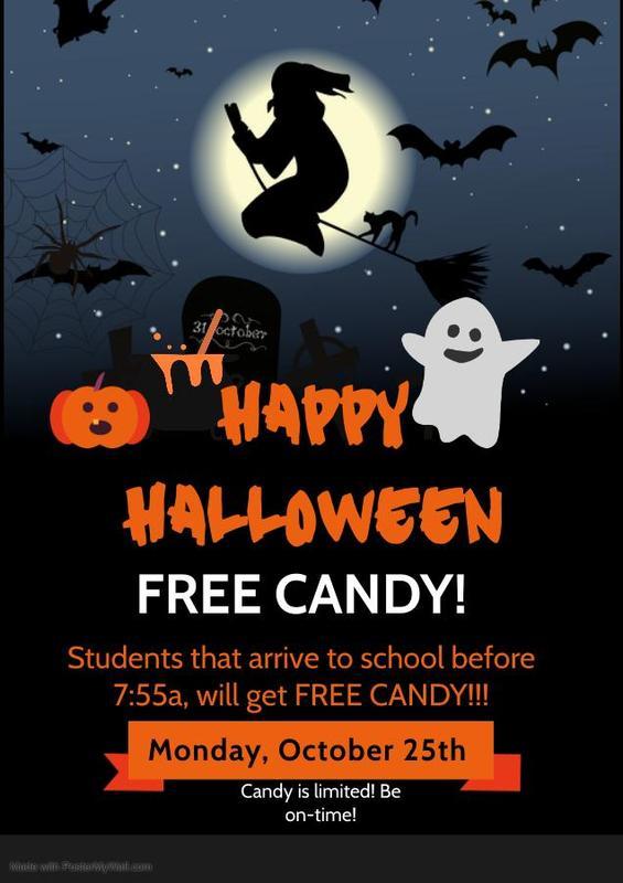 Halloween Attendance Incentive
