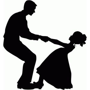 Daddy Daughter Dance Graphic