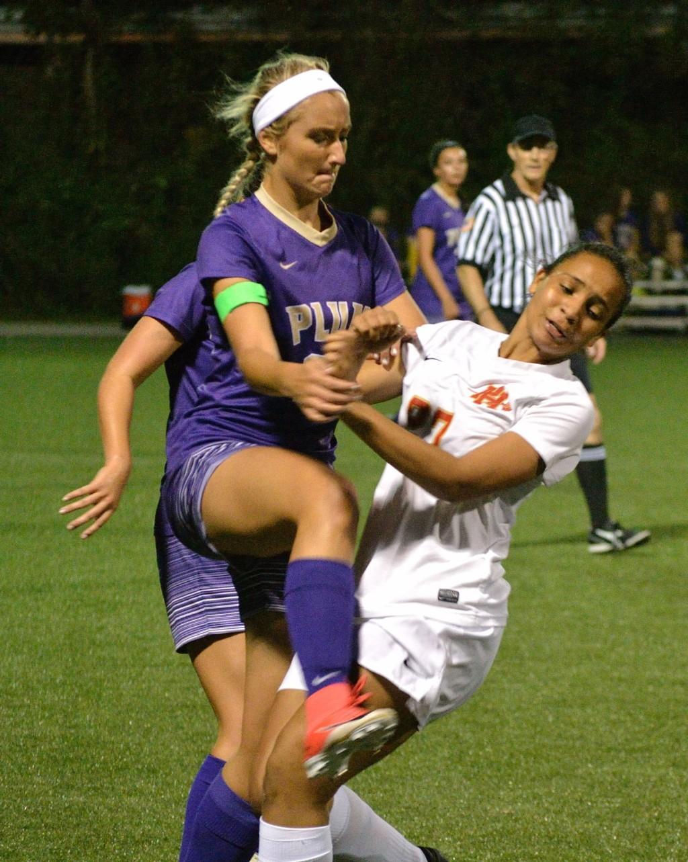 Varsity Girls' Soccer vs Plum - 091817