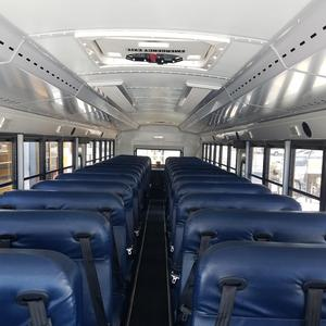 interior view of new electric bus for EUSD