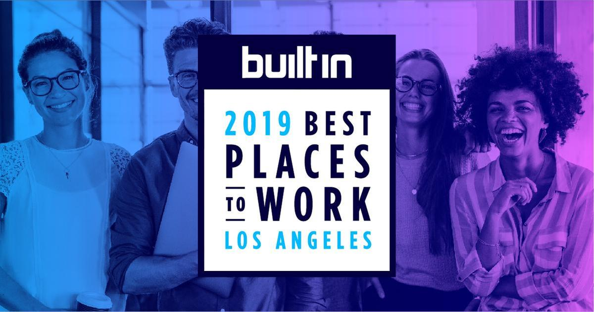 Built In LA's Best Places to Work in 2019