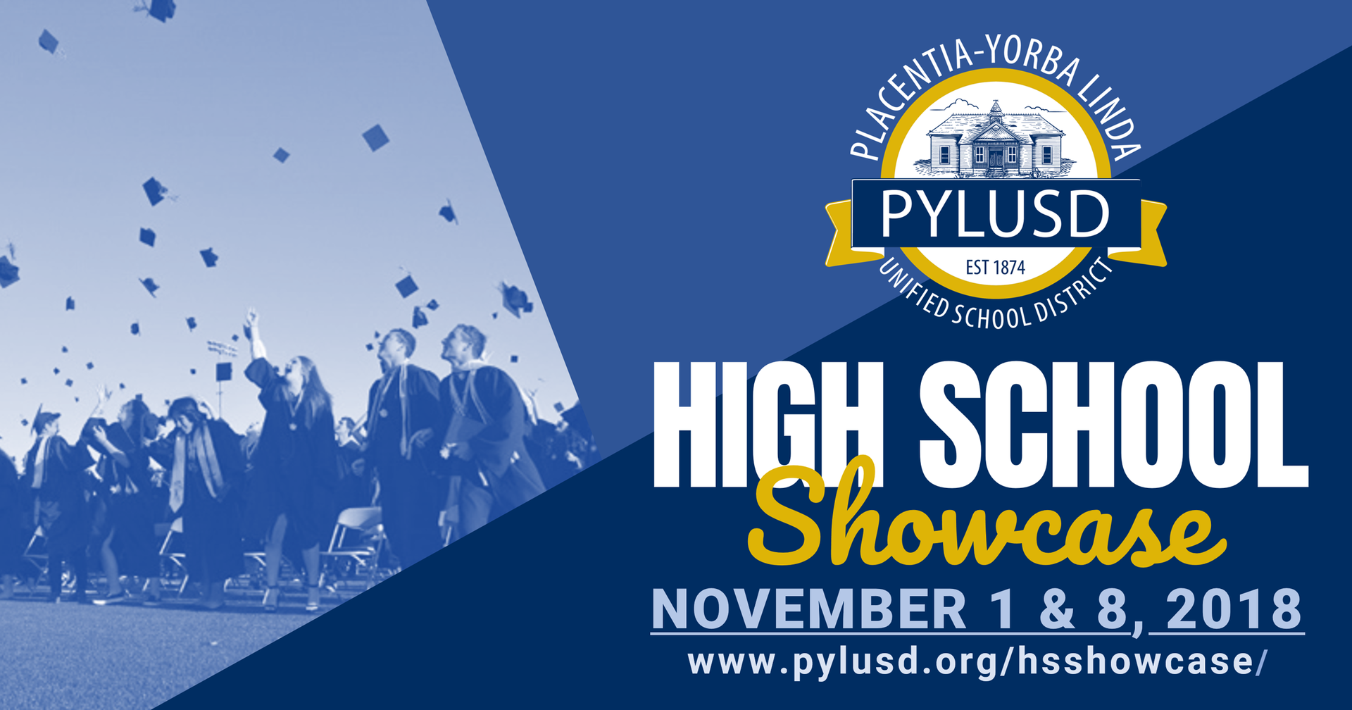 HS showcase banner for Facebook.