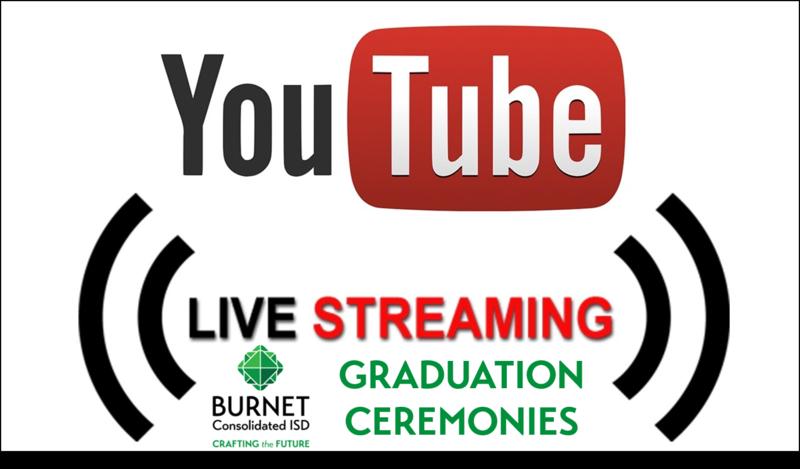 Livestream Links for BCISD Graduation Ceremonies Thumbnail Image