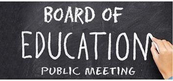 Board of Ed Meeting